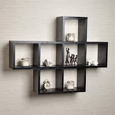 narrow wall mounted bookshelves