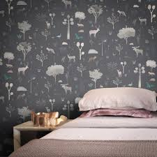 wallpaper for house house of nature wallpaper by katarzynasurman feathr