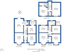 Minton Floor Plan by 6 Bedroom Property For Sale In Avondale Road Hoylake Wirral