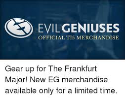 Meme Merchandise - cs evilgeniuses official t15 merchandise gear up for the frankfurt