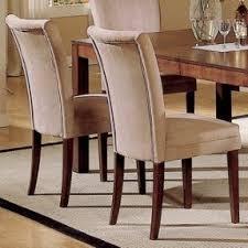 Parson Chairs Microfiber Parson Chairs Set Foter