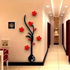 aliexpress com buy modern 3d plum vase wall stickers flowers
