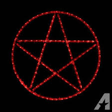 wiccan home decor wiccan pentacle led lighted wall art home decor wicca pentagram