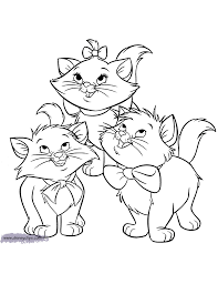 coloring pages aristocats coloring pages mycoloring free