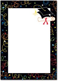 Graduation Invitations Cards Printable Invitation Paper Stationery Theme Letterhead The