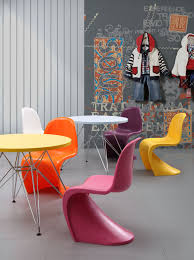 Multi Coloured Chairs by Panton Style Baby S Chair Multiple Colors Designer