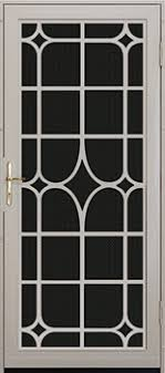 Premium Steel Security Doors Unique Home Designs - Unique home designs security door
