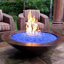 Diy Gas Fire Pit by Diy Gas Firepit With Glaas Stone Google Search Patio Ideas