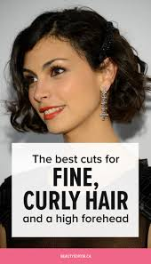 the best cuts for fine curly hair and a high forehead beautyeditor