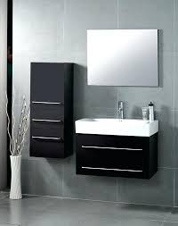 bathroom vanity with side cabinet 29 bathroom vanity district x modern wall hung bathroom vanity with