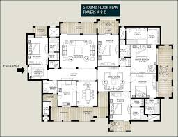 Floor Plans For Flats 5 Bedroom Flat House Plan House Design Plans