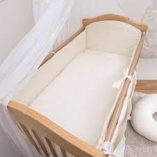 Luxury Nursery Bedding Sets by Luxury 3 Piece Nursery Baby Bedding Set Cot Cot Bed Long All Round