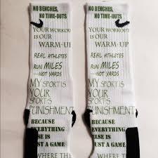 20 nike other cross country quotes custom nike elite socks