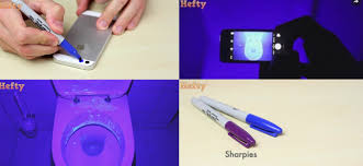 can a black light detect install a blacklight filter on your smartphone camera for 3 cents