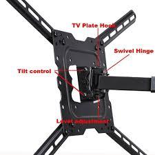 wall mount for 48 inch tv digiair rakuten videosecu lcd led uhd tilt swivel tv wall mount