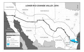 Us And Mexico Map The Forgotten Americans A Visual Exploration Of Lower Rio Grande