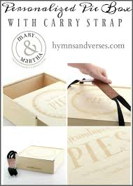 personalized pie boxes thanksgiving table pie box giveaway winner hymns and verses