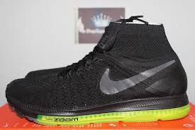 Nike Zoom All Out Flyknit nike nikelab zoom all out flyknit black volt 844134 001
