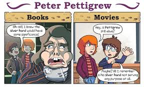 harry potter books movies dorkly