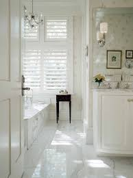 Carrara Marble Floor Tile Carrara Marble Bathrooms Bathroom Modern With Glass Shower