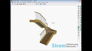 Stair Designer by Stairdesigner Escalera Con Dos Rellanos Youtube