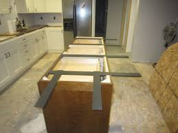 Kitchen Island Countertop Overhang Island Support System