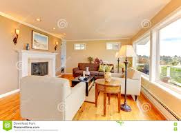 Cozy Living Room by Bright Cozy Room Stock Photo Image 60601268