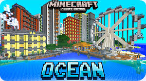 Mpce Maps Minecraft Pe Maps Amazing Deepocean City Map Ios U0026 Android 1 0