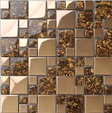 mosaic tile for kitchen backsplash stainless steel tiles glass mosaic ssmt068 of pearl tiles