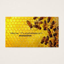 Farm Business Card Beekeeping Business Cards Business Cards 100