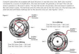 4 subs dvc 4 ohm mono kicker cvr 12 wiring diagram very best in