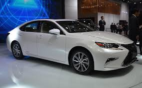 lexus es 2016 the refreshed lexus es will be in shanghai the car guide