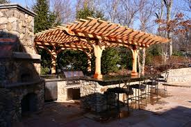 pergola outdoor kitchen outdoor kitchen pergola no kp1 by trellis structures