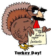 turkey wearing groucho marx mask thanksgiving animation gif