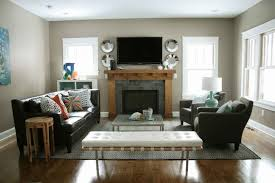 how to arrange living room furniture with fireplace and tv gallery