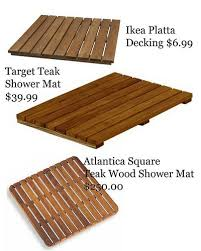 Teak Bath Mat Wooden Bath Mat Options Copy Bath Mat Planters And Bath