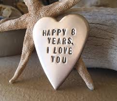 eighth anniversary gift what is the 8th wedding anniversary gift new bronze gift for him