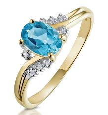 blue gem rings images Meaning of gem colour in engagement rings thediamondstore blog jpg