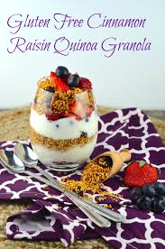 gluten free passover products gluten free passover recipes part 1 cinnamon raisin quinoa granola