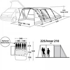 Outwell Country Road Awning Drive Away Awnings Free Standing Awnings For Motorhomes U0026 Campervans