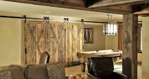 Reclaimed Wood Cabinets For Kitchen Barn Wood Wall Cabinet View In Gallery Wall Shelves Twodoor