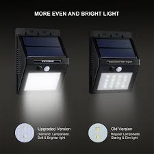 Security Sensor Lights Outdoor Victsing 16led Solar Power Lights Waterproof Outdoor Wall