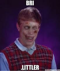 Badluck Brian Meme - bri littler meme zombie bad luck brian 22831 memeshappen