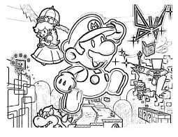 mario coloring pages free u2014 fitfru style super mario coloring