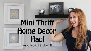 home decor thrift store what i found at the thrift store mini home decor haul how i styled
