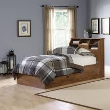 Sauder Bookcase Headboard by Oak Furniture West Twin Bookcase Headboard Bed Thesecretconsul Com