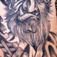 tattoo design with viking warrior with axe tattooimages biz