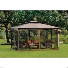 gazebo heavy duty steel gazebo large pergola heavy duty 11 x 13 patio metal frame