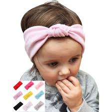 fabric headband turban knot stretch fabric baby headband