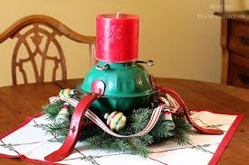 christmas tree holder christmas tree stand candle holder house of hawthornes